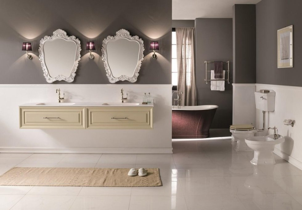 Gaia mobili fine furniture bathrooms made in italy cersaie