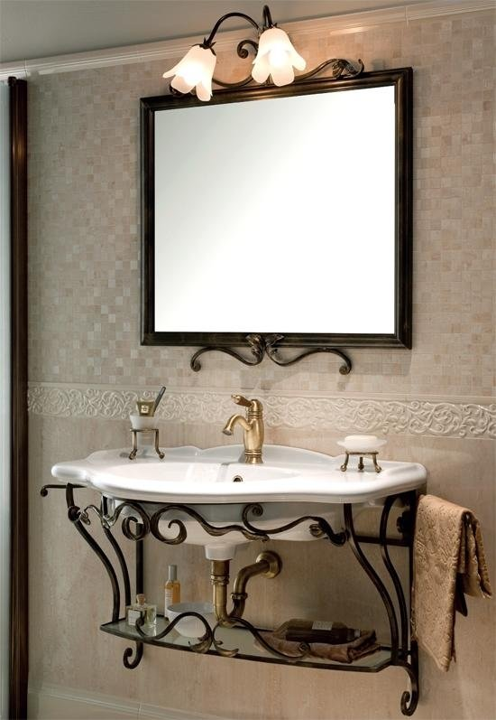 Consolle per bagno interesting lavabi colorati e consolle - Gaia mobili bagno prezzi ...