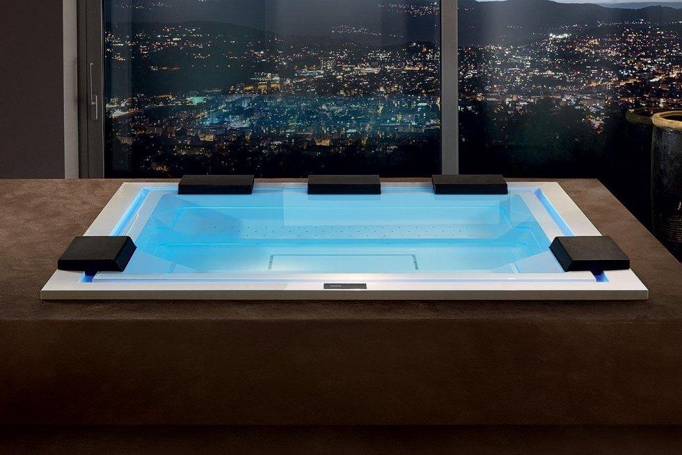 la piscina in casa