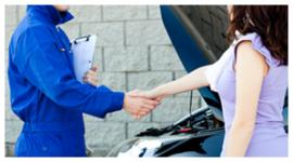 servizio meccanico, riparazione autovetture, cartellina delle riparazioni