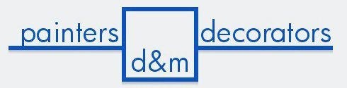 d&m painters logo