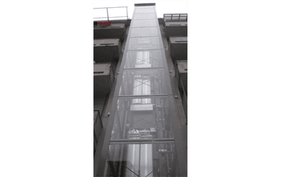 ascensore panorama a vista esterna