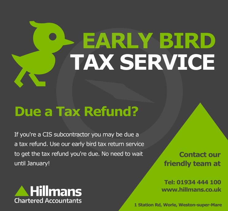 Hillmans Accountants Early Bird Tax Return Service