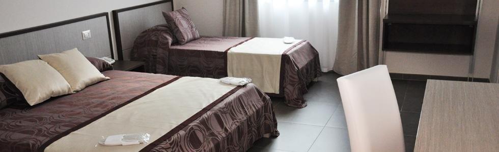 Le stanze Hotel Eubea