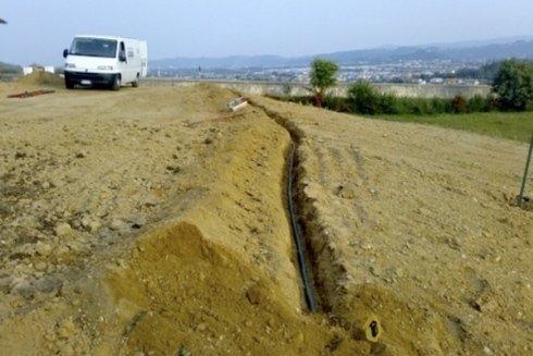 Irrigazione settore agricolo