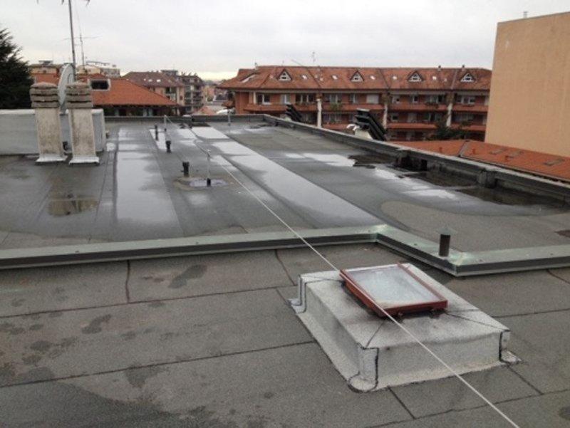 tetto di un condominio