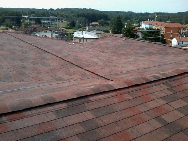 vista di un tetto