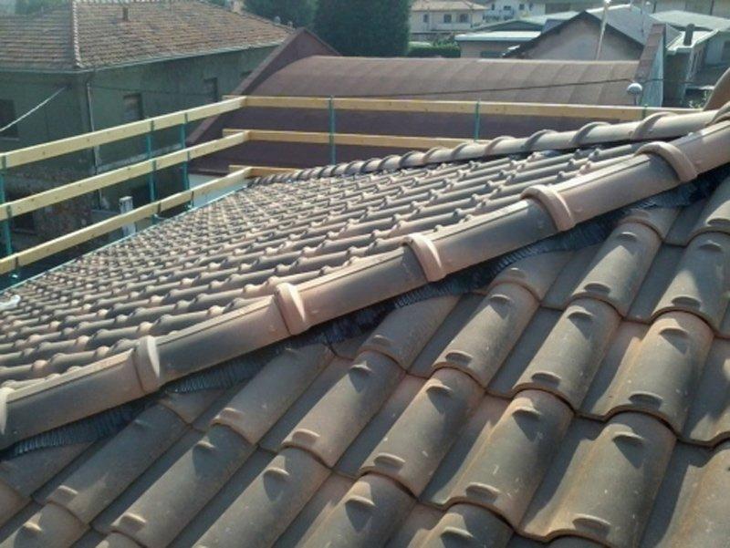 tetto in ristrutturazione