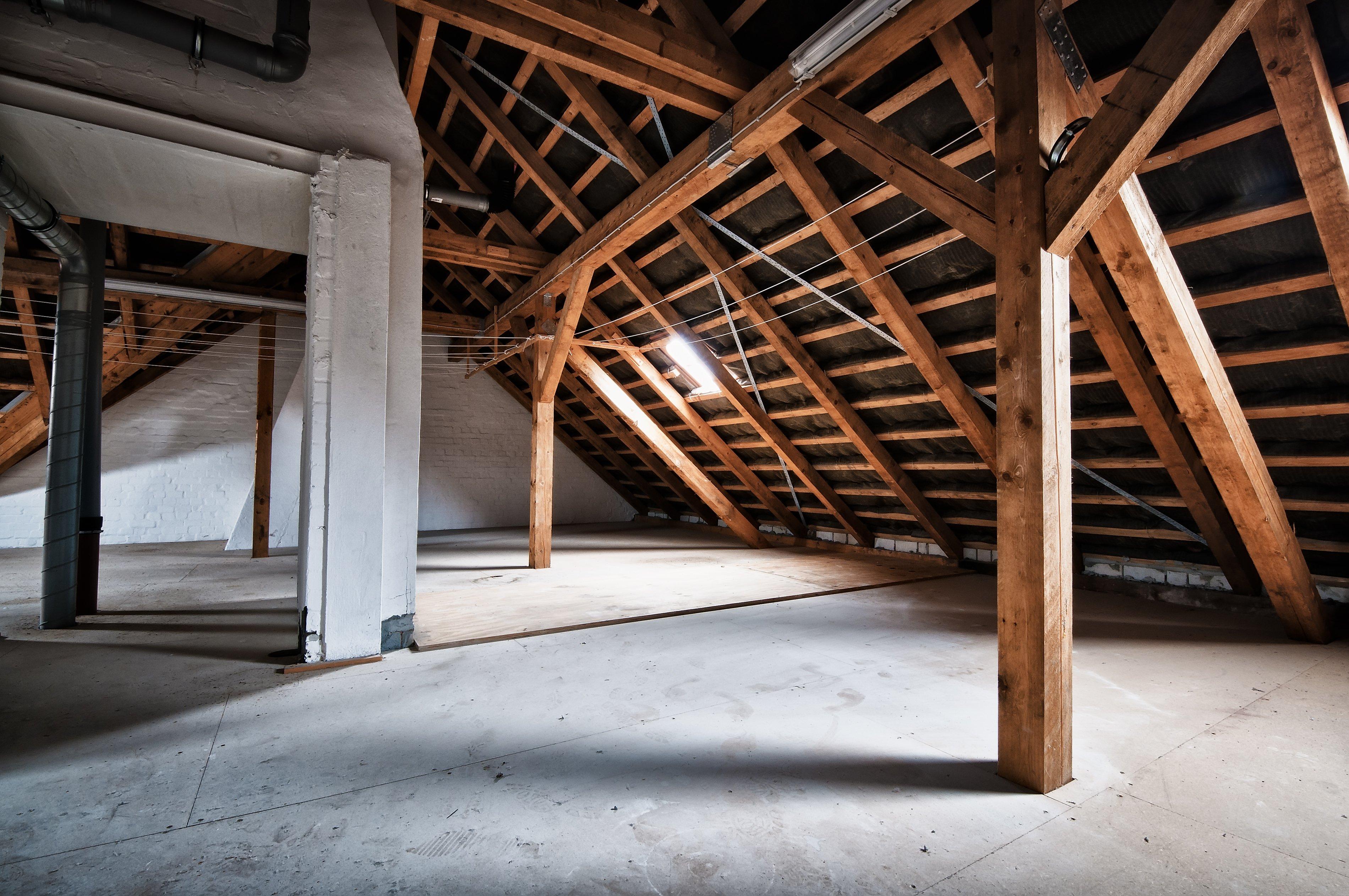 interno di un tetto