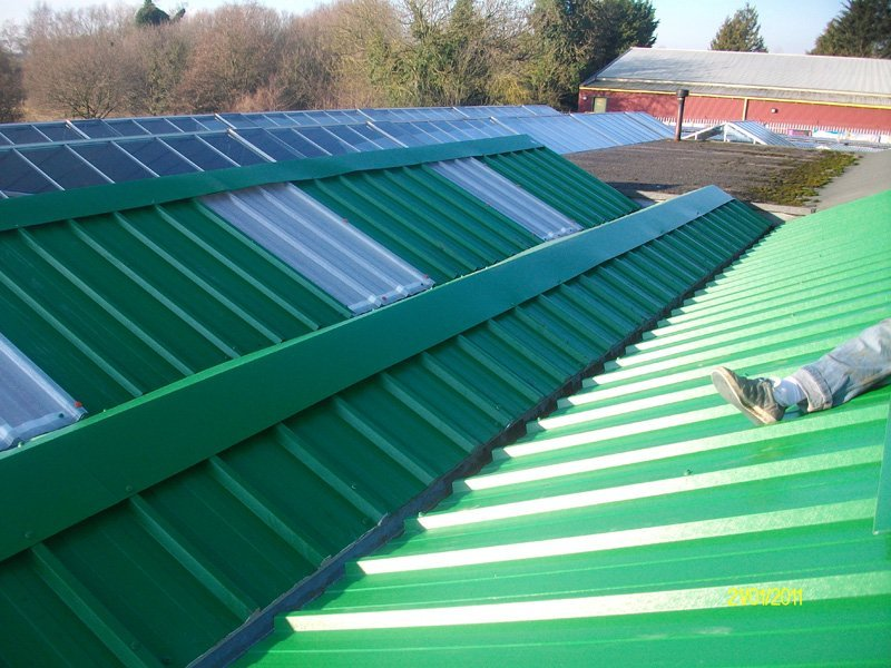 quality glasshouse roof