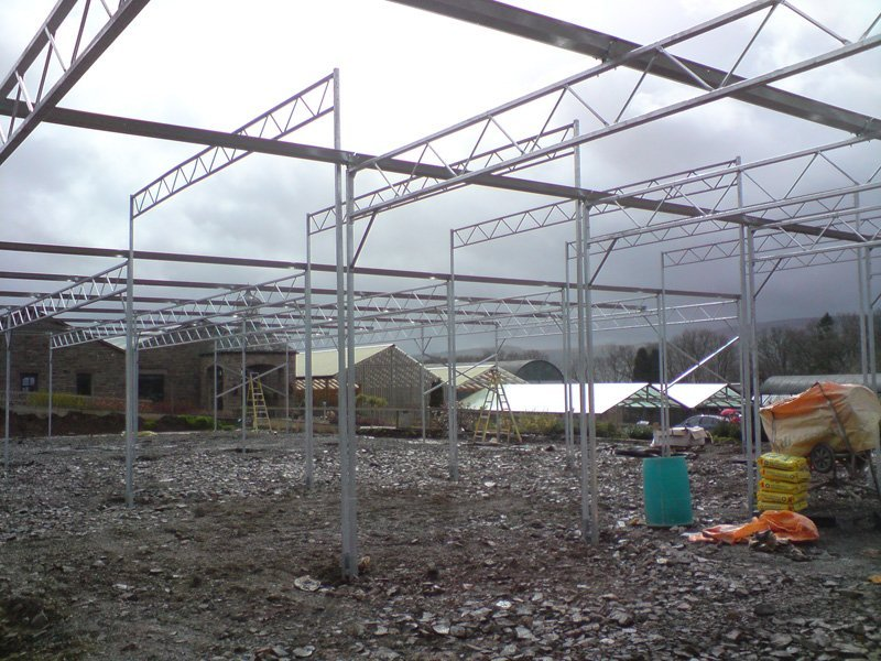 glasshouse installation services