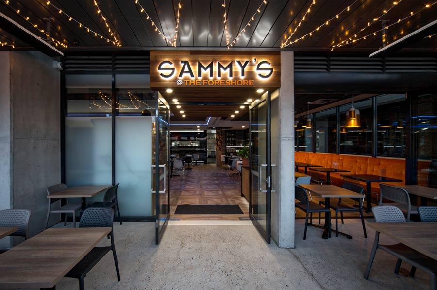 sammys entrance light fixture