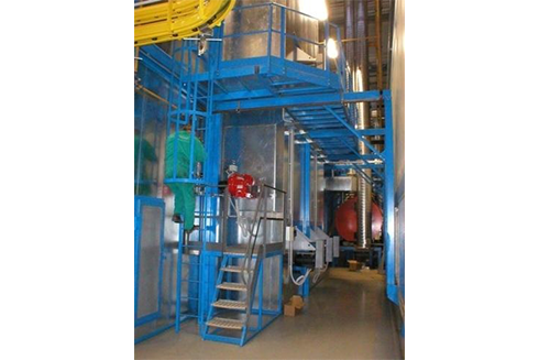 Industrial painting ovens