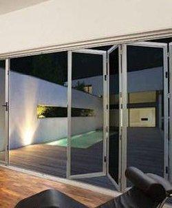 Amplimesh Supascreen bifold doors