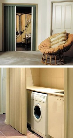 Lotus Vinylcloth Folding Doors Space And Energy Saving