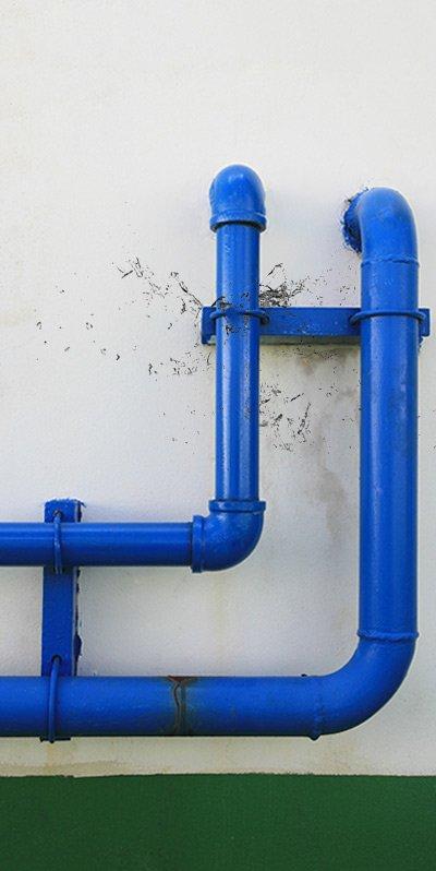 alderbrook plumbing water pipe leaking