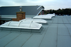 Roofing - Portsmouth - Pollard Contracts Ltd - Flat roof