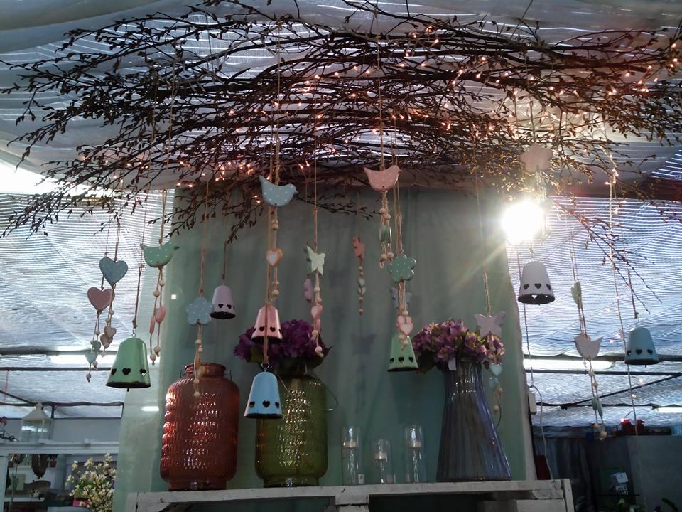 campanellini colorati per arredare una casa