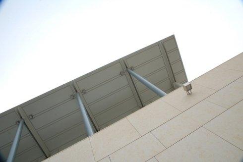 tettoia vista dal basso