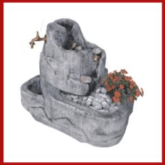 fontana da giardino, fontana, fontanella, arredo giardino, fontana con gioco d