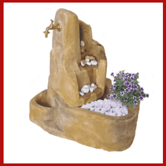 fontana esterna, fontana da giardino, fontanella, vendita fontane, arredo giardino