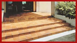 pavimento in cotto, pavimento esterno in cotto, pavimento per esterni, vendita al dettaglio