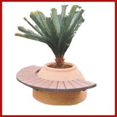 palma, panchina, arredo giardino