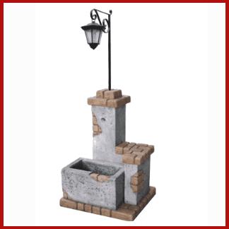 fontana, fontana con lanterna, vendita fontane, fontana da giardino, arredo giardino