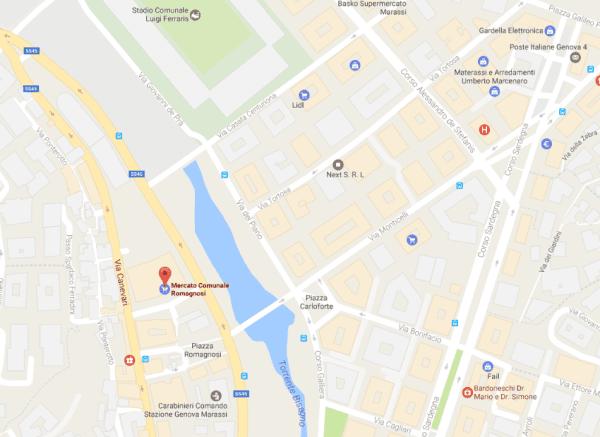 Mercato Romagnosi Genova