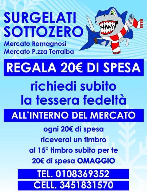 Surgelati Sottozero 2001 Genova