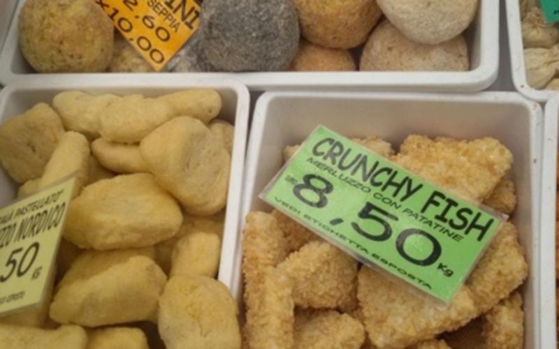 Genova pesce surgelato