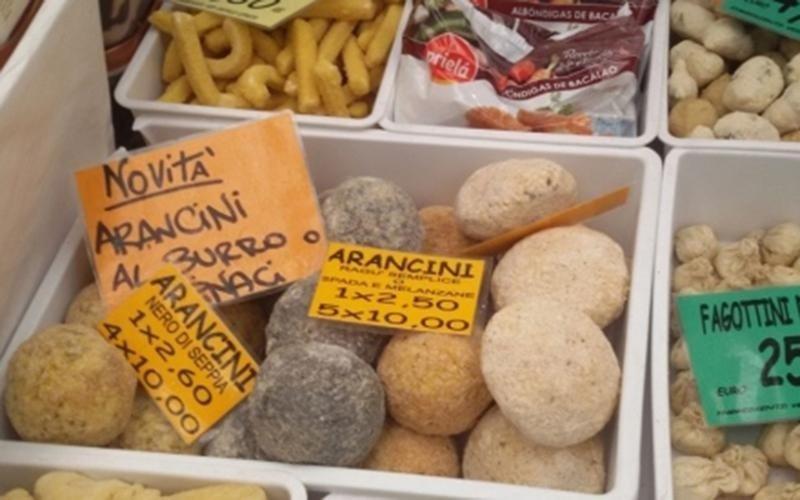 Arancini surgelati Genova