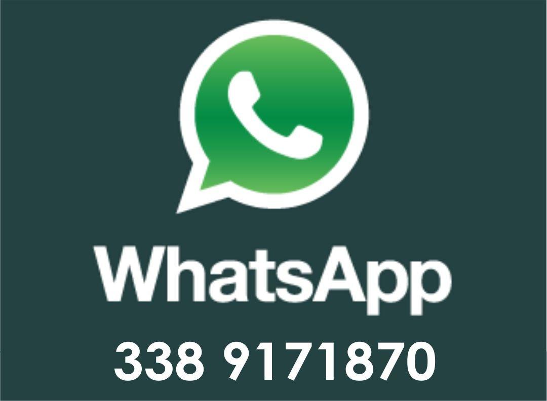 Icona WhatsApp con numero di telefono