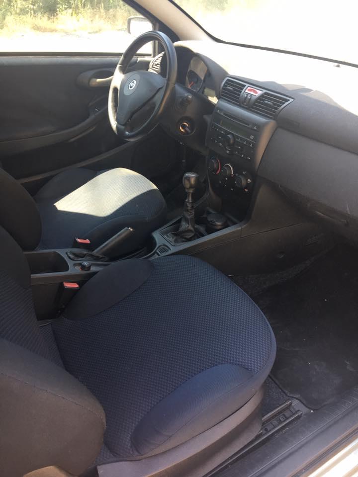 sedili di una vettura
