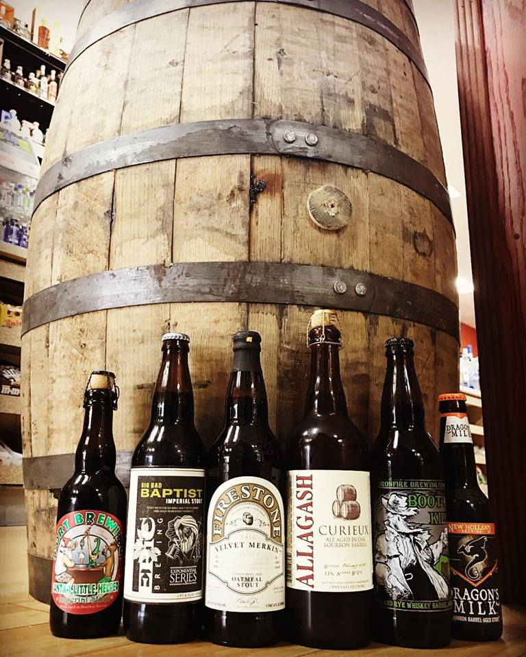 barrel aged stouts and ales
