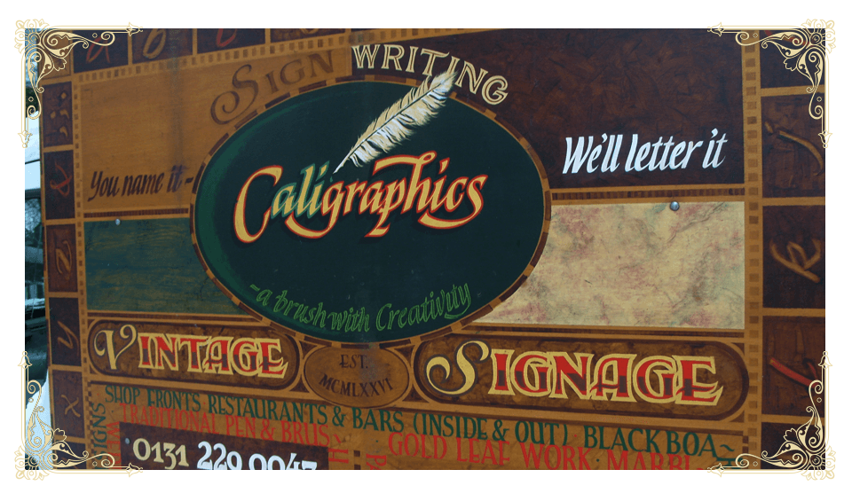 traditional sign writing