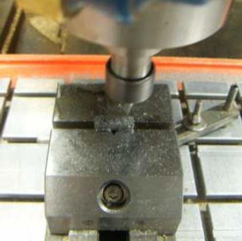 realizzazione di un punzone in acciaio