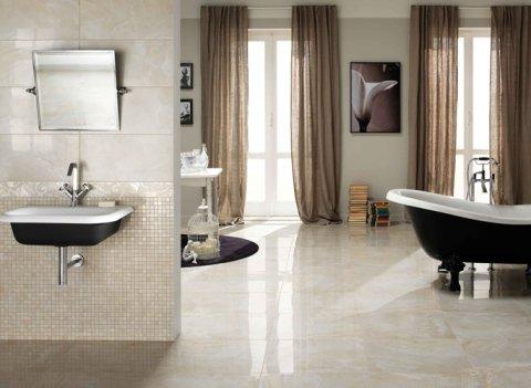 Rivestimenti bagno in alabastro