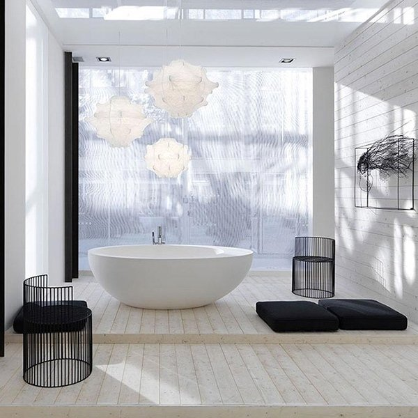 Elementi da bagno linea Le Giare - Cielo