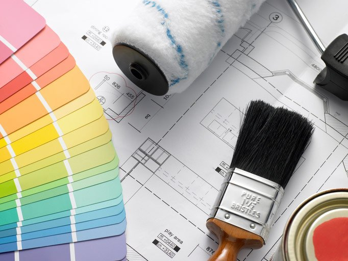 painting supplies and plans