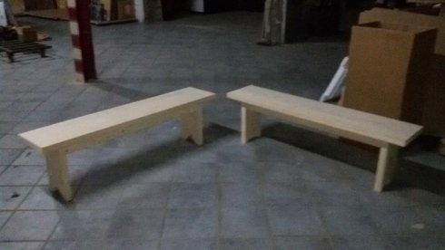 panche in legno