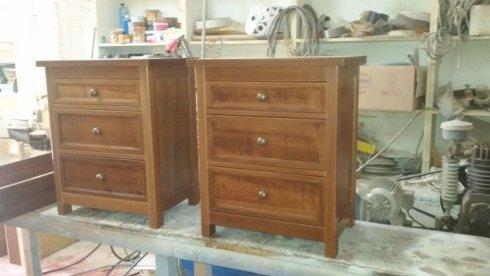 comodini in legno