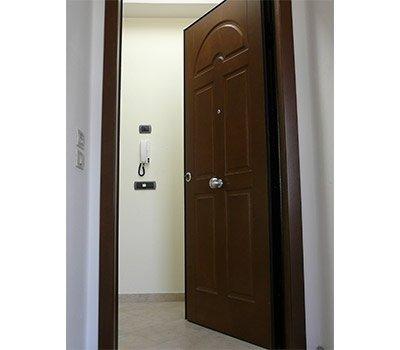 Porte blindate pannelli legno