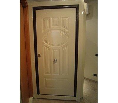 Porta blindata alluminio
