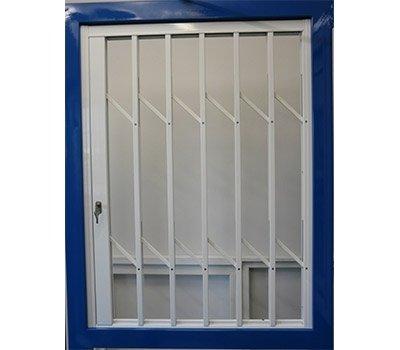 Grata scorrevole finestra