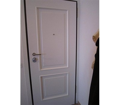 Porta interna maniglia satinata