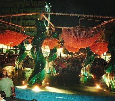Realizzazione fontane ferro battuto