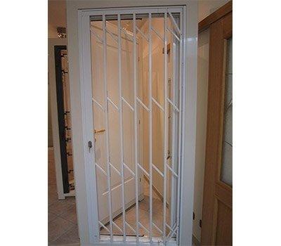 Cancello pieghevole alluminio