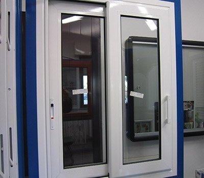 Finestre scorrevoli alluminio