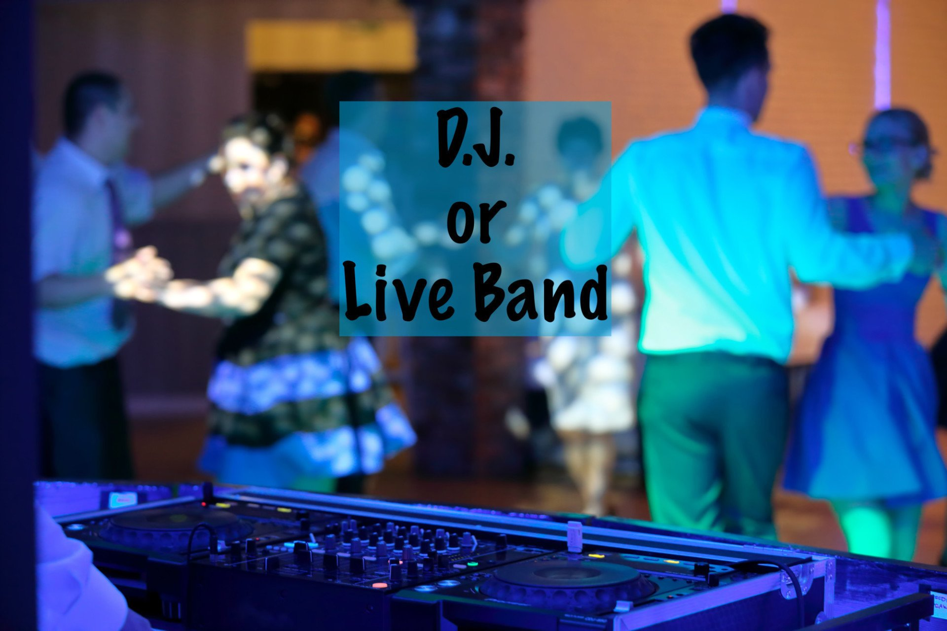 DJ or Live Band? How to Know Which Is Best for Your Rustic